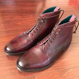 4e61d2dc5c5e07 Leather Boots by Ted Baker 9D US Men s